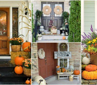 Heartwarming Fall Porch Decor Ideas That Anyone Can Make