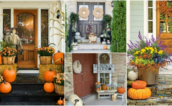 Heartwarming Fall Porch Decor Ideas That Anyone Can Make