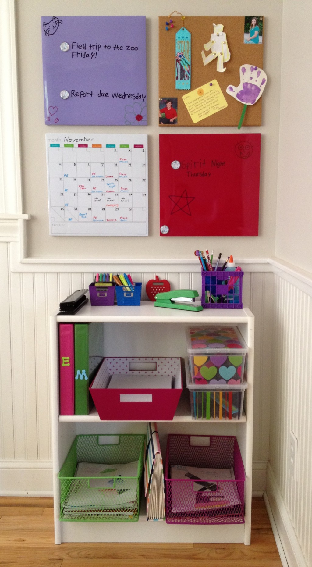 easy diy homework station ideas that increase productivity
