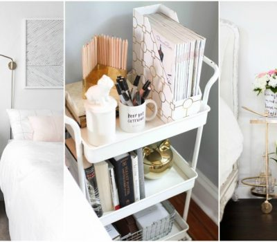 Looking For A Functional And Cheap Nightstand Alternative? Try A Cart!