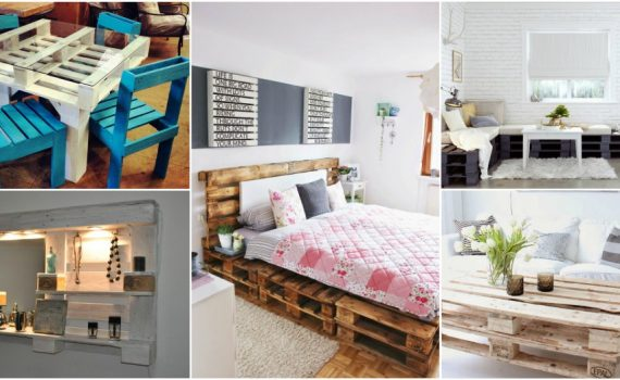 Stylish And Functional DIY Pallet Furniture For A Home On A Budget