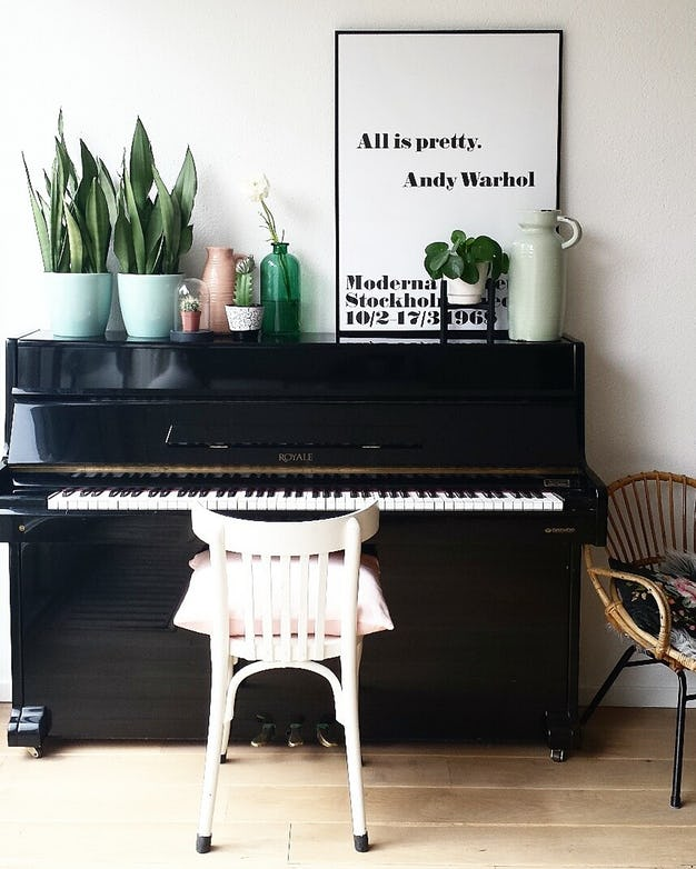 Professionals Secrets Piano Decor Ideas To Make Yours Pop