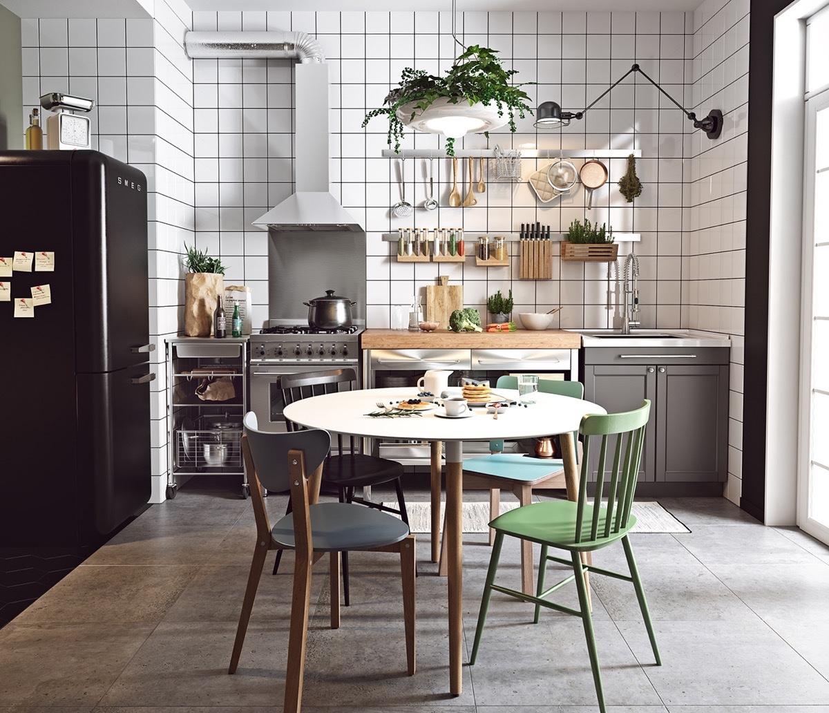 Fascinating Scandinavian Kitchen Designs That Feature