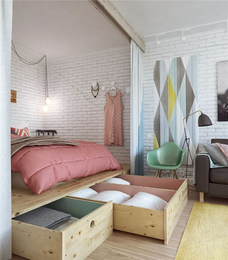 Creative Ideas For Small Spaces: Creative Bed Ideas Ideal For Small Spaces