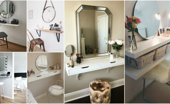 Affordable DIY Vanity Designs That Anyone Can Make