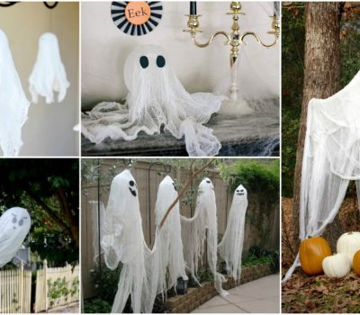 How To Make A DIY Halloween Ghost For Cheap?