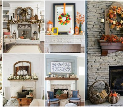 15 Fall Mantel Decor Ideas To Create Cozy Atmosphere In Your Home