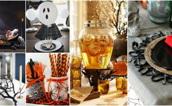 Wicked Halloween Table Decor That Anyone Can Make