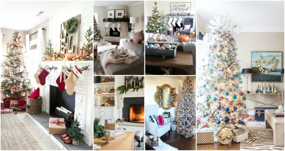 Living Room Christmas Decor Ideas And Tips For Bringing The Festive