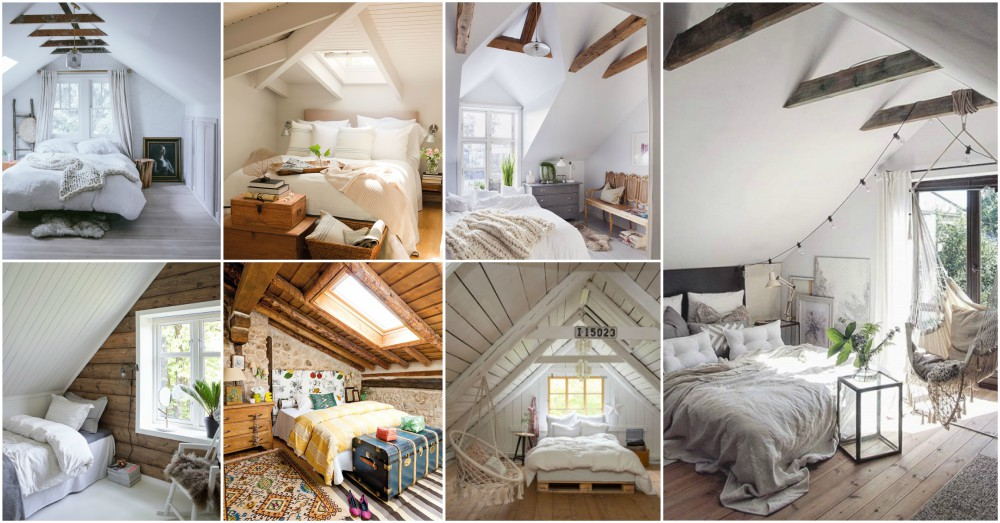 Attic Bedroom Designs That Look Incredibly Cozy