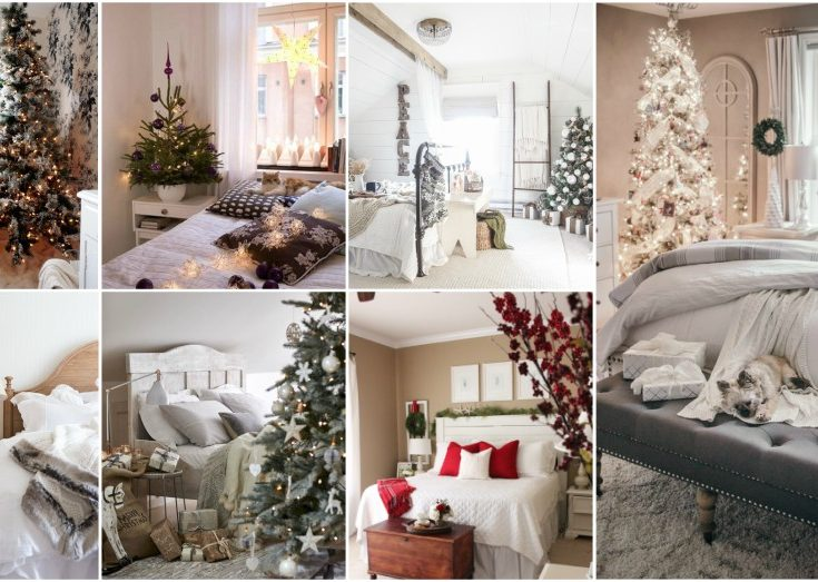 christmas bedroom ideas and tips to make it look cozy - Christmas Bedroom