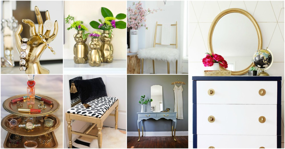 Brilliant DIY Gold Spray Paint Projects To Turn Trash Into Luxury