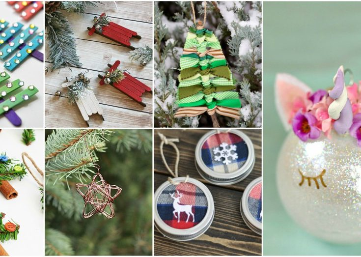 awesome diy christmas ornaments that cost next to nothing - Diy Christmas Decorations 2017