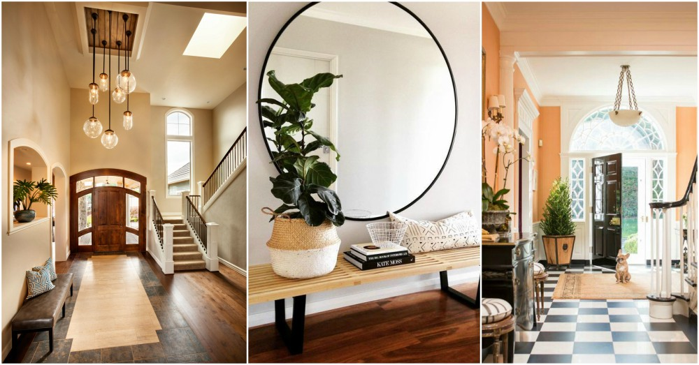 Foyer Mirror Feng Shui : Feng shui entrance tips for attracting good luck and