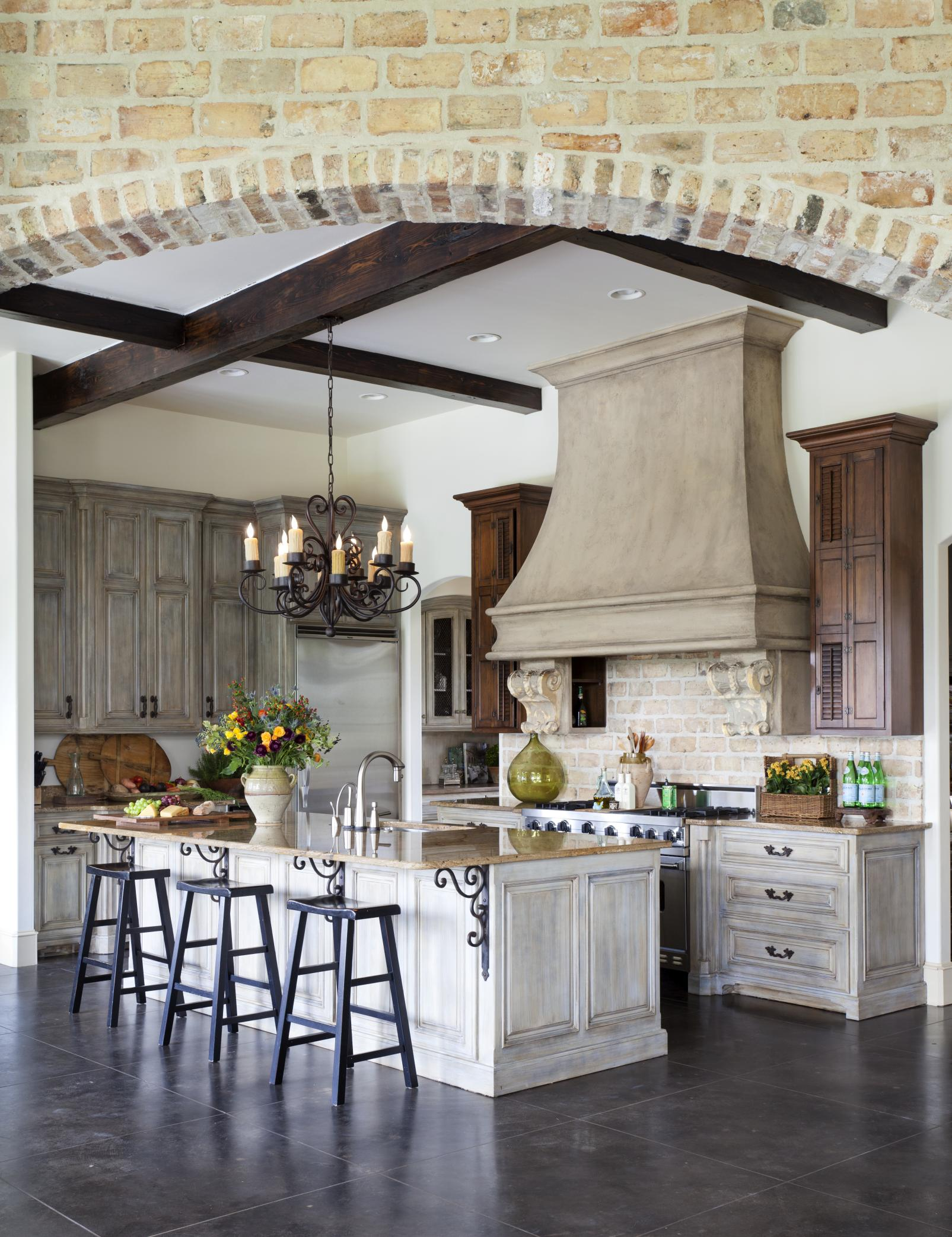 Cozy French Country Kitchen Designs For The Ones That Love ... on Rustic:fkvt0Ptafus= Farmhouse Kitchen  id=55886