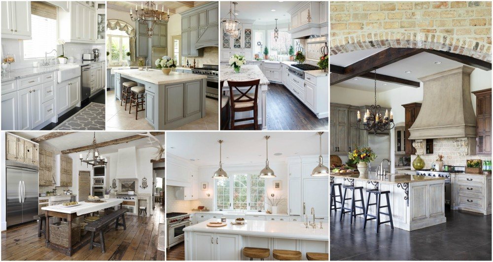 Cozy French Country Kitchen Designs For The Ones That Love Traditional Style