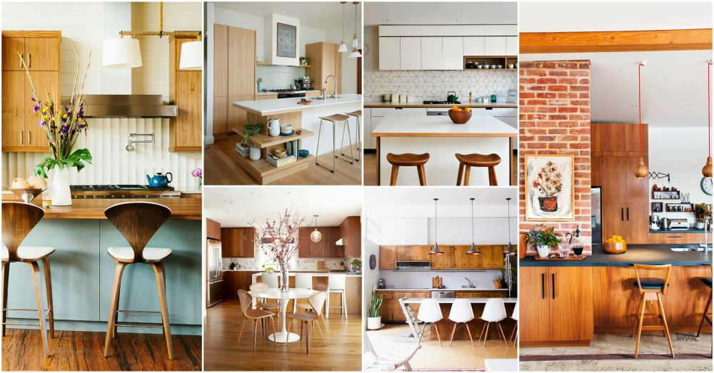 Mid Century Modern Kitchen Designs That Feature A Warm Atosphere