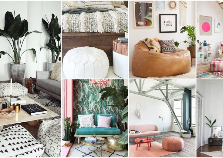 Spectacular Pouf Ideas And Great Ways To Implement Them In Your Home