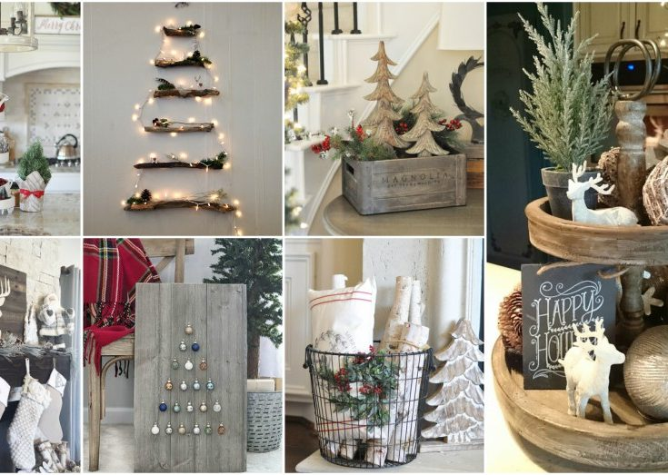 helpful rustic christmas decor ideas that look so cozy - Rustic Christmas Decor