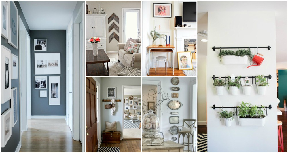 narrow wall decor entry hallway wall genius small wall decor ideas to solve the tiny awkward space