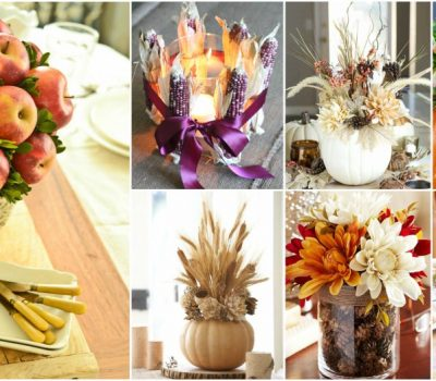 Easy DIY Thanksgiving Centerpiece Ideas For The Festive Entertainment