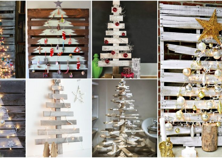 easy diy pallet christmas tree ideas to amaze everyone with your creativity - Pallet Christmas Decoration Ideas