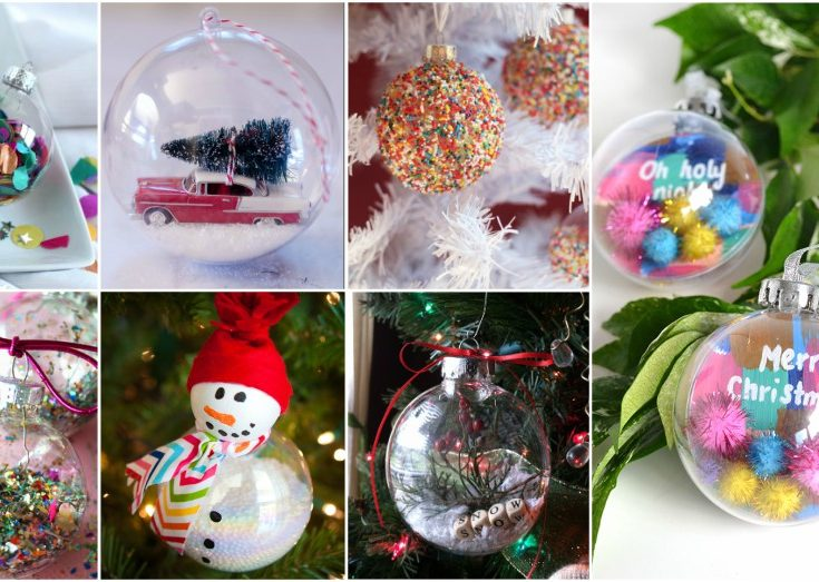 Easy Clear Ornaments Ideas That Don T Cost Much