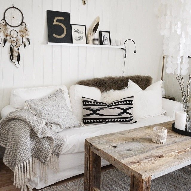 Neutral Bohemian Interiors That Implement The Famous Trend In A