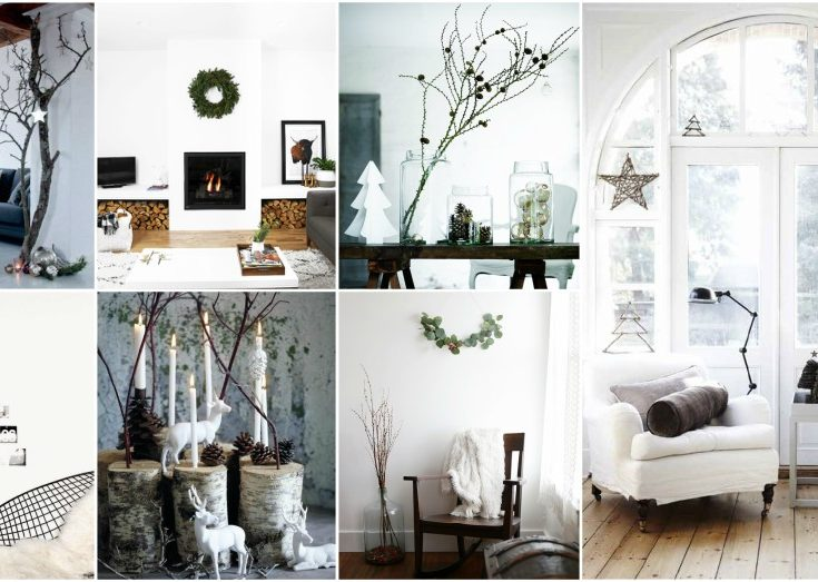 Scandinavian Christmas.Simple Scandinavian Christmas Decor Ideas That Minimalists