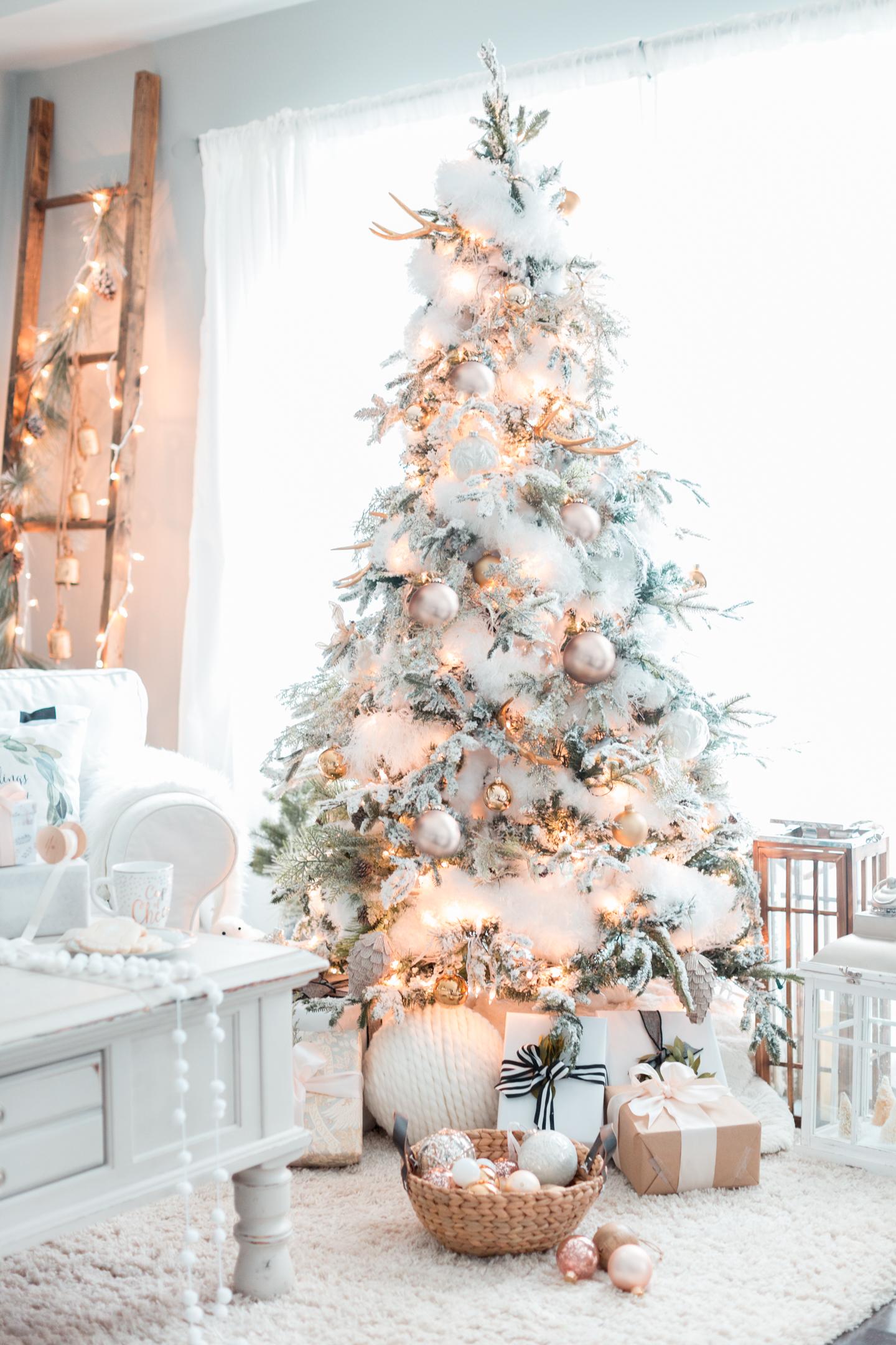 Stunning White Christmas Tree Ideas To Make Yours Shine