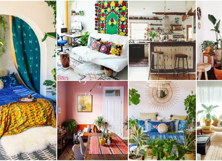 5 Essentials For Decorating Bohemian Interiors That You
