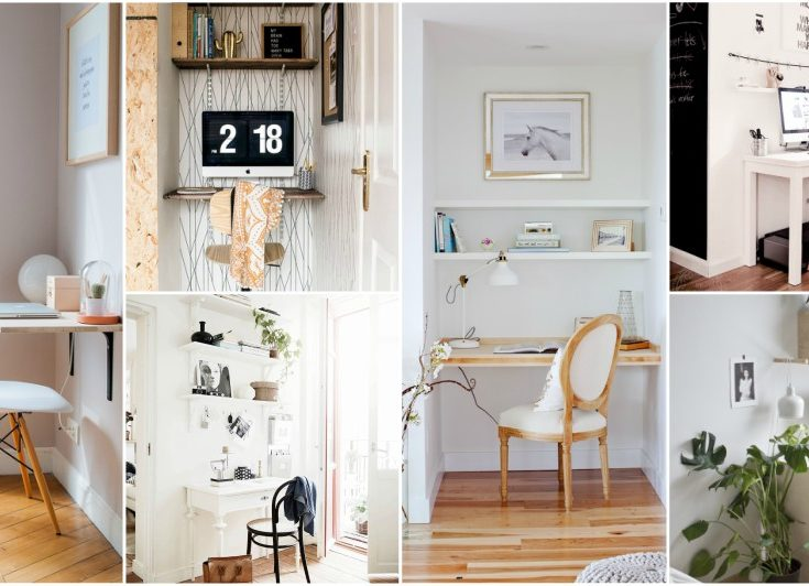 Z Gallerie Dining Table Decor, 15 Very Small Desk Ideas That Will Surprise You With The Functionality