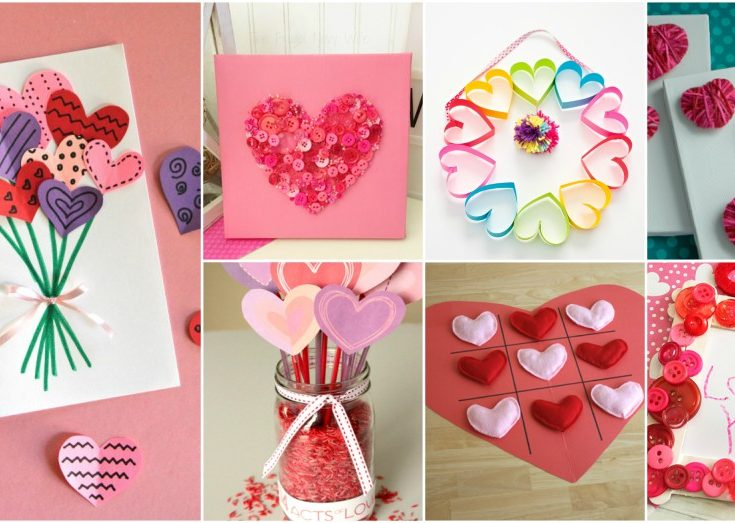 Easy Valentines Day Crafts That Even Kids Can Make
