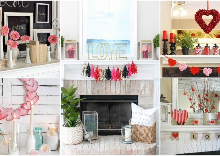 Valentines Day Mantel Decor Ideas And Tips To Make It Outstanding