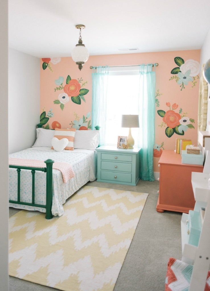 Children Room Design: Spectacular Kids Room Accent Wall Ideas That They Will Love
