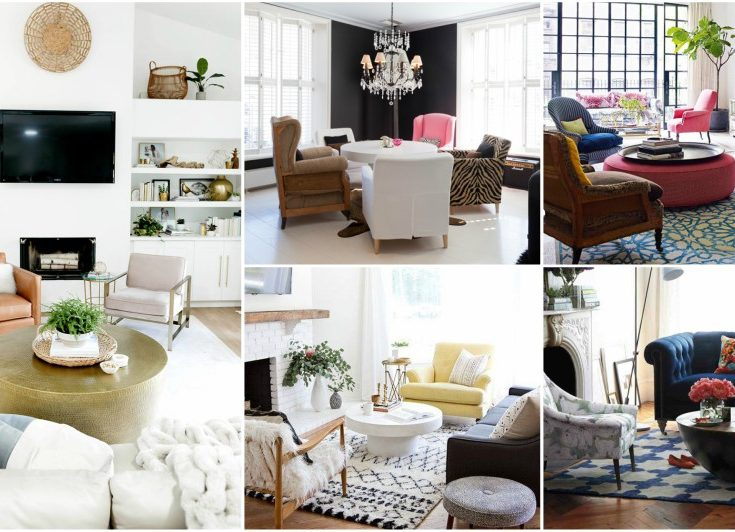 mismatched armchairs is the latest trend for your living room rh mykarmastream com sofas for living room india sofas for living room ideas