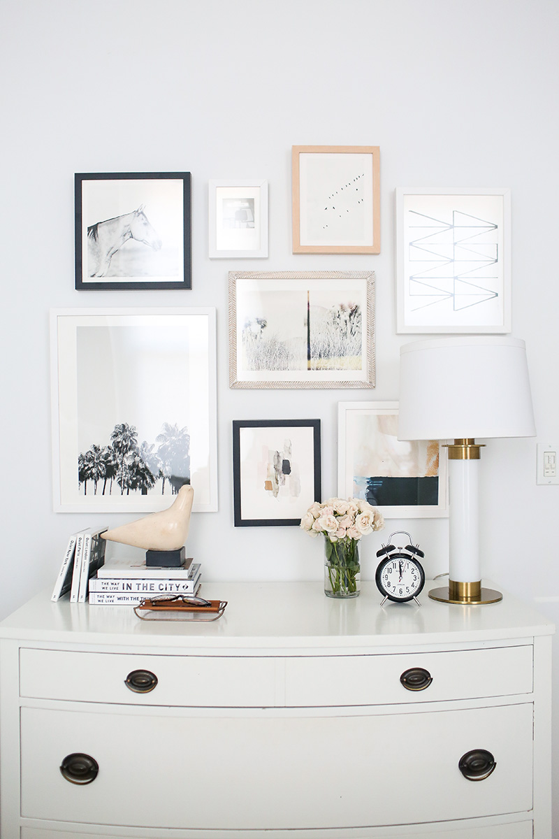Picture Collage Wall Bedroom Diy