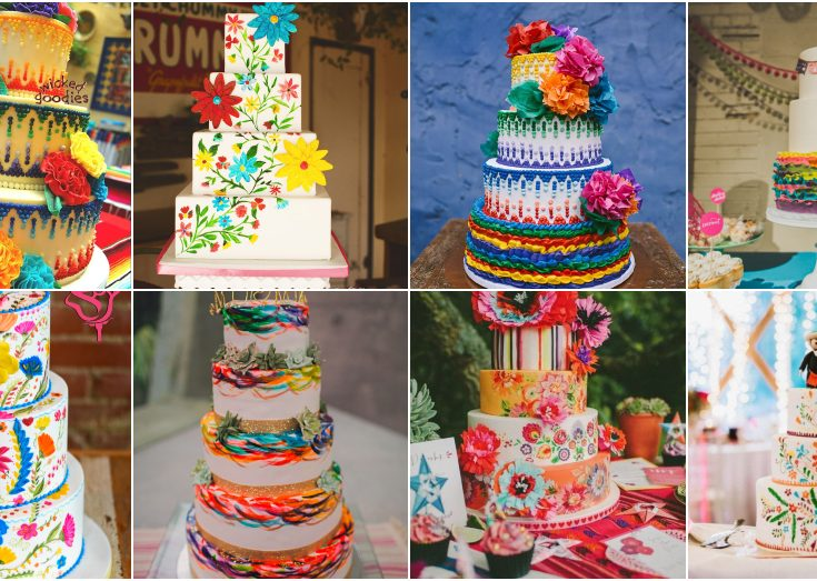 Mexican Wedding Cakes.Mexican Wedding Cake Ideas That Are So Colorful