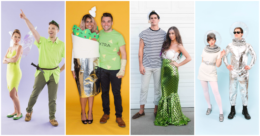 DIY Halloween Costumes For Couples That Are Easy To Make