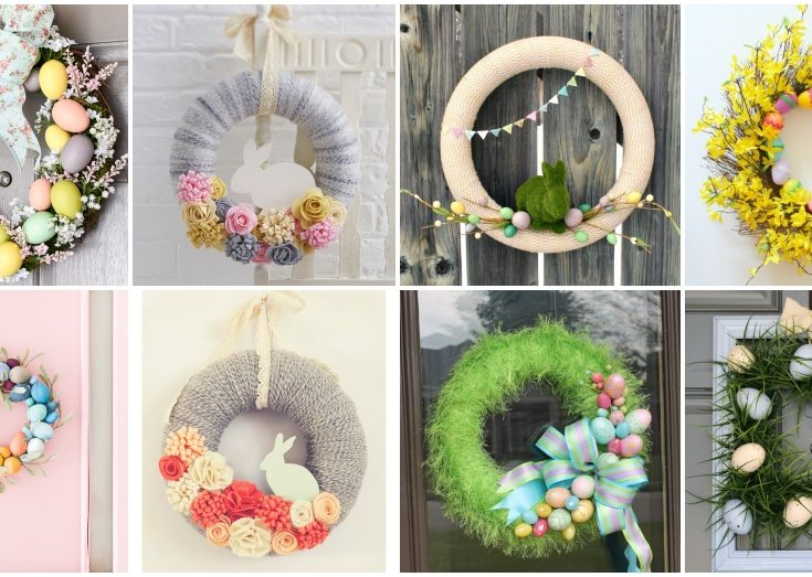 20 Spectacular Diy Easter Wreath Ideas That You Can Make
