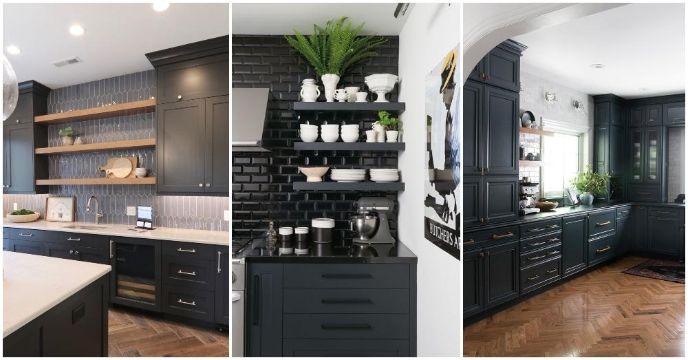 Dark Kitchen Ideas That Show Off The Latest Trend