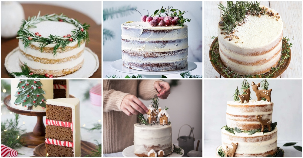 Clever Tips For Decorating Your Christmas Cakes
