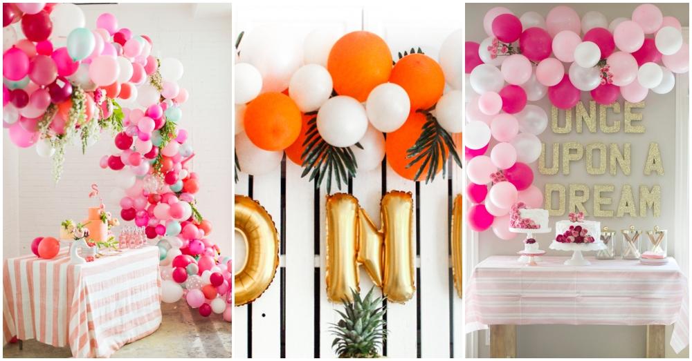 How To Make A DIY Balloon Arch Easily