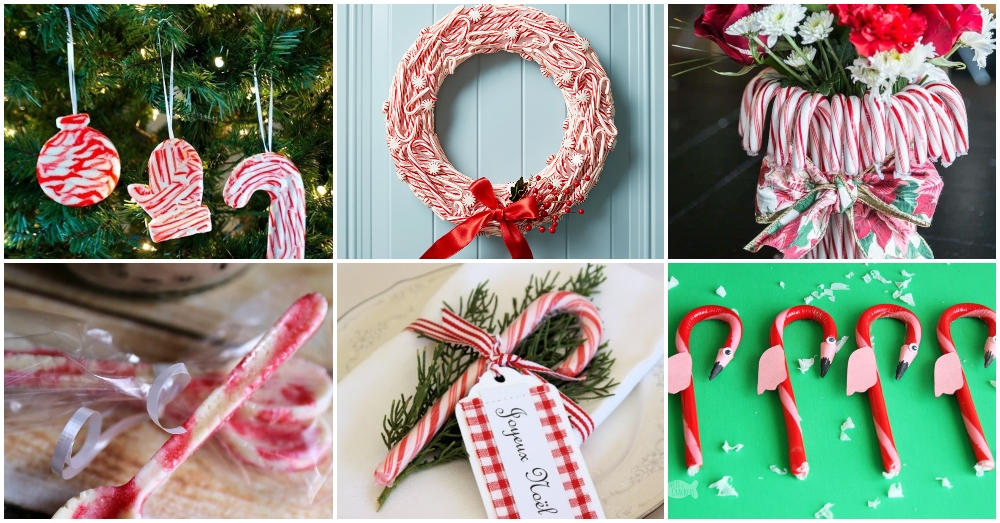 DIY Candy Cane Decorations That Are Effortless