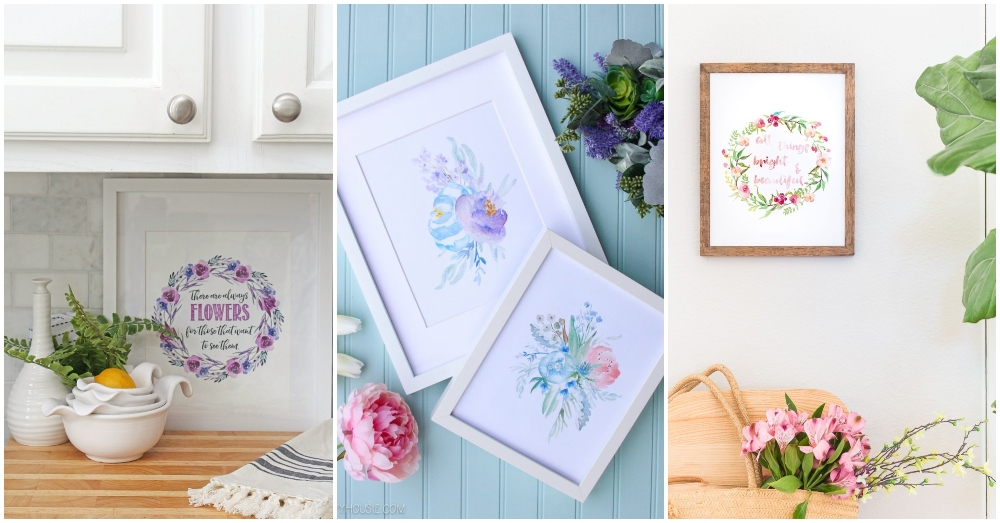 Free Printables For Spring Decor That You Should Grab Now